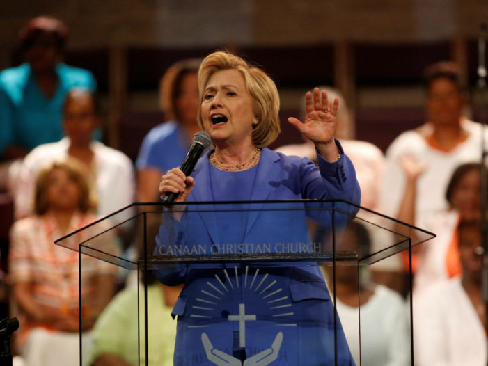 Eight years later, Hillary Clinton changes her tune on Christianity, same-sex marriage