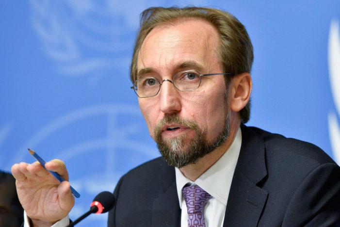 UN rights chief calls Trump a global threat