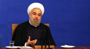 Iranian President Hassan Rouhani. /AFP/Getty Images
