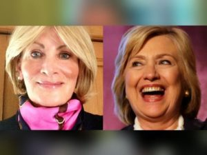Linda Tripp and Hillary Clinton