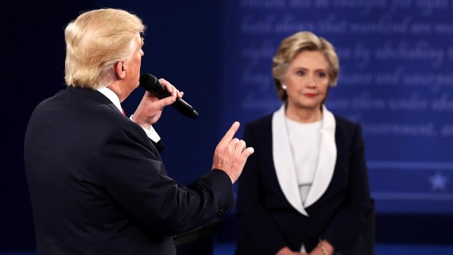 Debate No. 2: What Clinton and Trump actually said about key foreign policy issues and each other