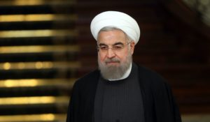 Iranian President Hassan Rouhani. /AP