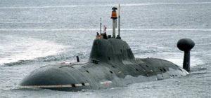 Russian Akula-class submarine