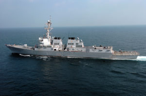 Iran-backed Houthi rebels this past weekend fired two missiles at the USS Mason in the Red Sea.
