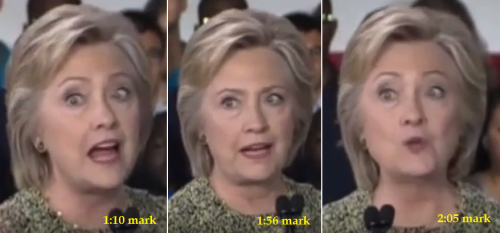 Doctors association: Most members observed abnormal eye movements in Clinton videos