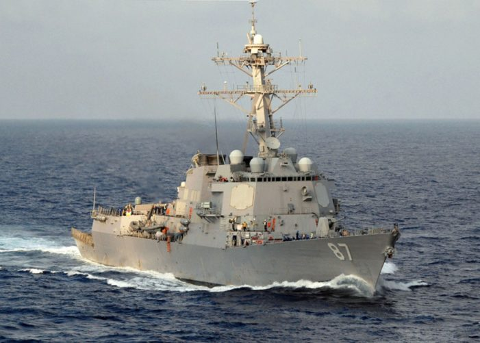 Houthi missiles from Yemen targeted U.S. destroyer