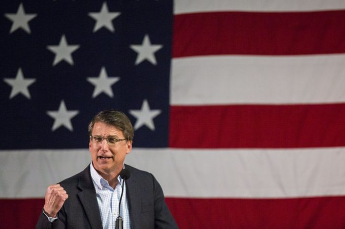 N.C. governor: Time for the 'silent majority' to stop speaking softly