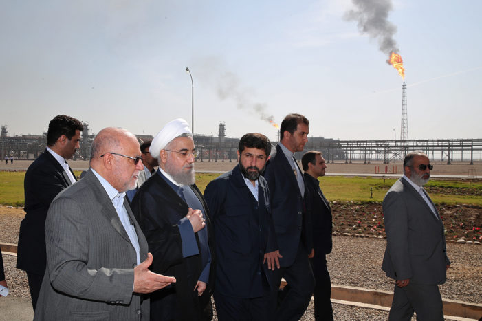 Iran aims for million barrels per day from three new oilfields