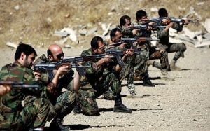 The Iranian force is said to consist mostly of Afghan and Pakistani recruits.