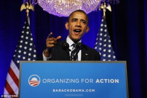 Daniel Greenfield: 'Obama is now the only major national figure still standing among the Democrats.' /Reuters