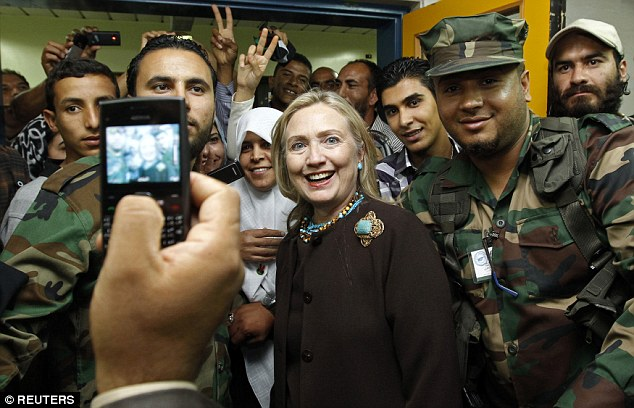 Email: By ousting Gadhafi, Clinton knew she was paving the way for rise of Islamists