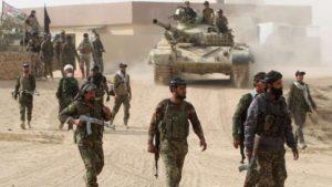Iraqi forces advance on Mosul. /AFP