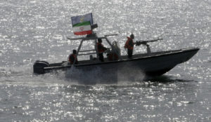 Iranian gunboat in the Persian Gulf. /AP