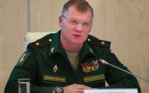 Igor Konashenkov delivered a warning to the U.S. alliance.