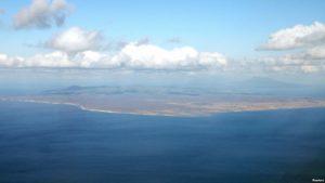Kunashiri Island.