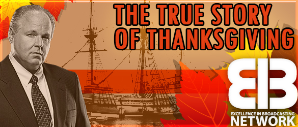 The true story of Thanksgiving: 'What the history books never tell you'