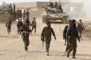 Shi'ite fighters near airport at Tal Afar on Nov. 16. / Ahmad Al-Rubaye / AFP
