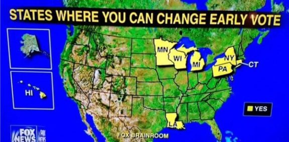 Spike reported in N.C. for Google search on 'change my early vote'