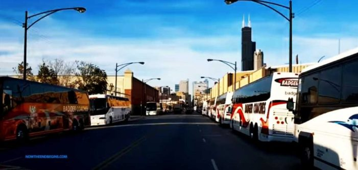 War continues: 'Spontaneous' Chicago protesters bused in from Wisconsin