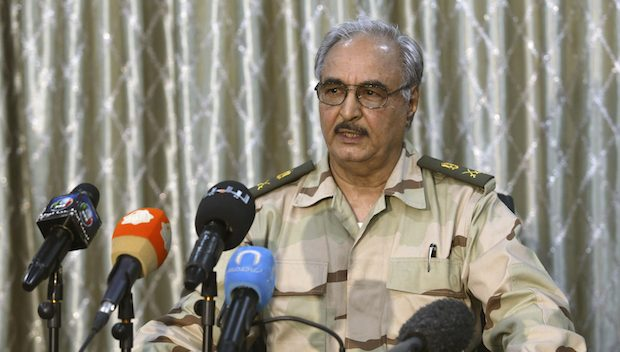 Russian military advisers supporting Gen. Haftar's forces in Libya
