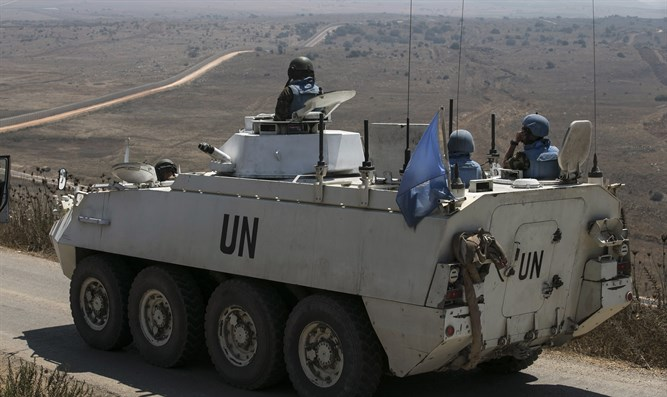UN 'peacekeepers' return to Syrian side of Golan Heights 2 years after fleeing to Israel