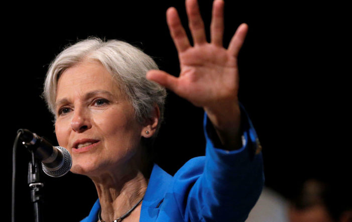 Jill Stein has raised more money for recount than for her entire campaign