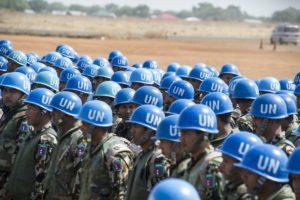 UN peacekeepers in Juba, South Sudan