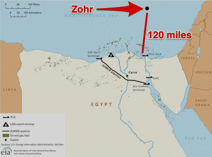 New massive offshore gas field could make Egypt self-sufficient