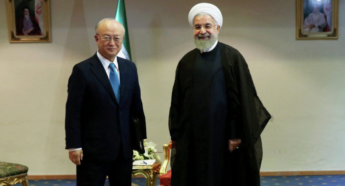 Iran consults with IAEA on uranium enrichment for nuclear-powered ships