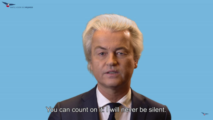 Statement by Geert Wilders after 'shameful' conviction: 'The Netherlands have become a sick country'