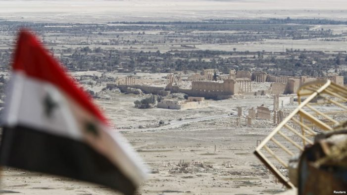 Russian airstrikes force out ISIL militants attempting to retake Palmyra