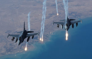 The U.S.-led coalition has launched 16,000 airstrikes on ISIL targets since 2014.