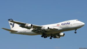 Iran's national carrier IranAir signed an agreement with Boeing for the purchase of 80 airplanes.