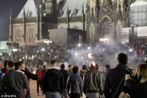 The mass assaults in Cologne were not initially reported by the media.