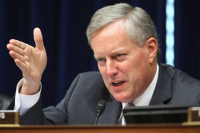 North Carolina's Mark Meadows wins chairmanship of Freedom Caucus