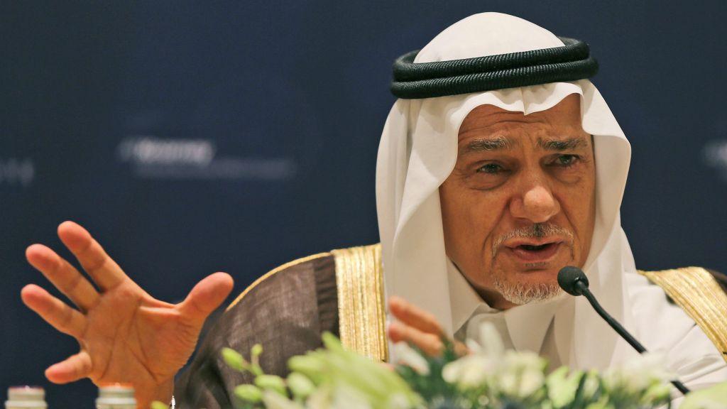 Former director of the Saudi Arabia General Intelligence Directorate and ex-ambassador to Washington Prince Turki al-Faisal. / Kamran Jebreili / AP
