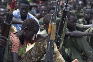 Ban Ki-moon: 'The Security Council must take steps to stem the flow of arms to South Sudan.' /AFP/Getty Images