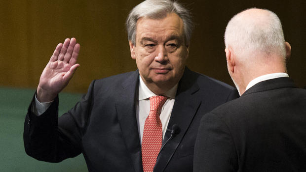 65 million migrants worldwide are among issues facing new UN Secretary General Antonio Guterres