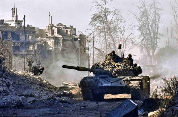 Syrian offensive to retake Aleppo enters 'final phase'
