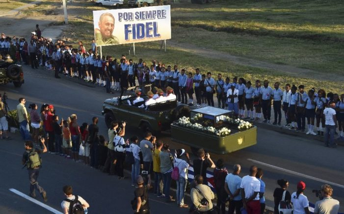 Latin American liberal tide wanes after subdued Castro funeral, Trump win
