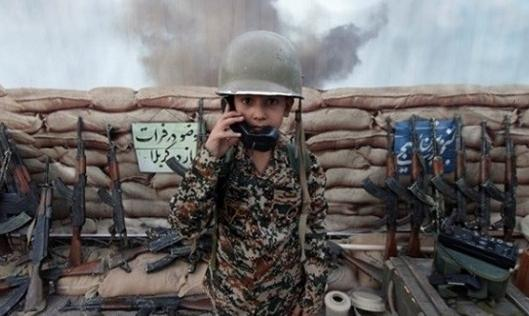 Iran's new theme park for children provides uniforms, war games against U.S., Israel