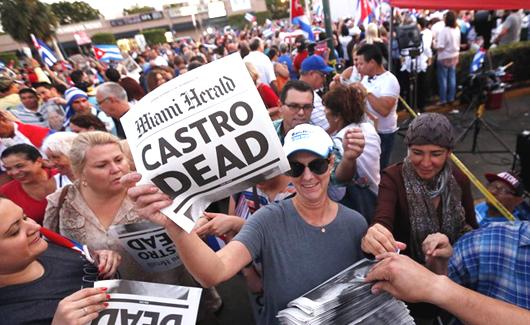 Adios Fidel, hola Cuba libre?