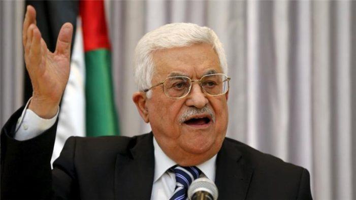 Palestinians' Abbas warns Trump not to move U.S. embassy to Jerusalem