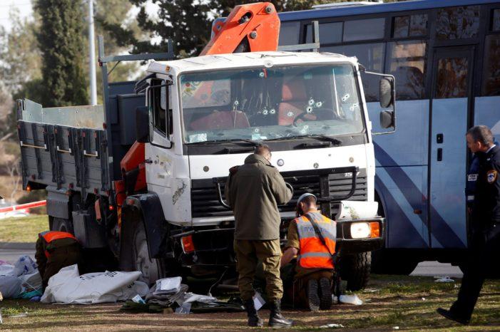 Hamas praises 'heroic' truck attack in Jerusalem, calls for more