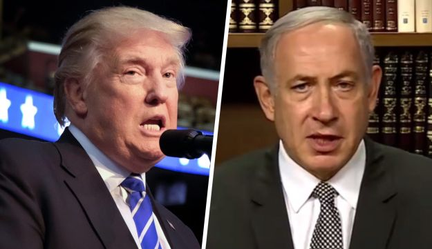 Trump tells Netanyahu direct talks are the only hope for peace