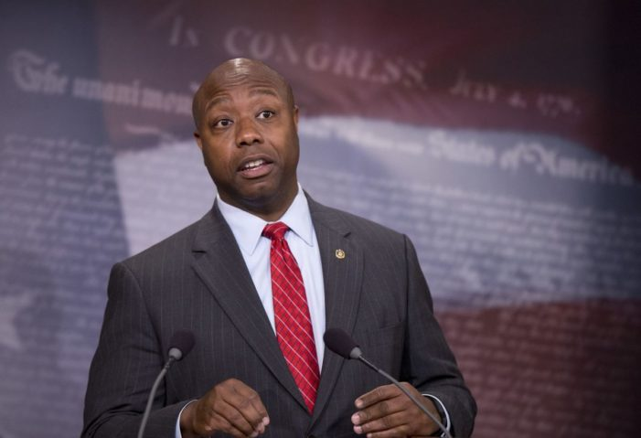 How an African American GOP senator deals with haters on the Left
