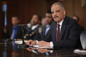 Eric Holder will represent California in legal battles with the Trump White House. /Getty Images