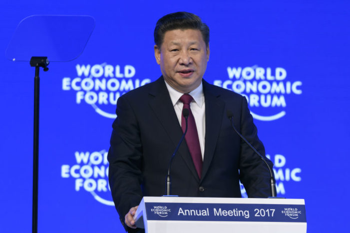 Make China great again: Xi Jinping offers solace to Trumped global elites