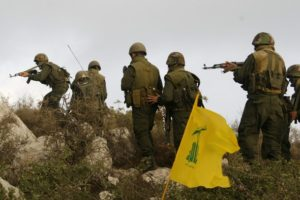 Hizbullah fighters in Syria. /Reuters
