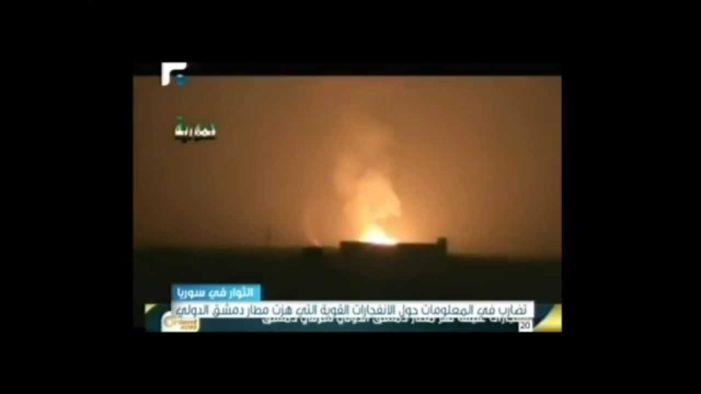 Syria accuses Israel of bombing airport near Damascus, threatens to retaliate